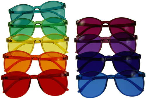 Childrens Color Therapy Glasses